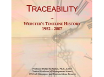 Traceability: Webster's Timeline History, 1952 – 2007