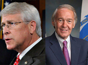 US Senators Roger Wicker and Edward J. Markey